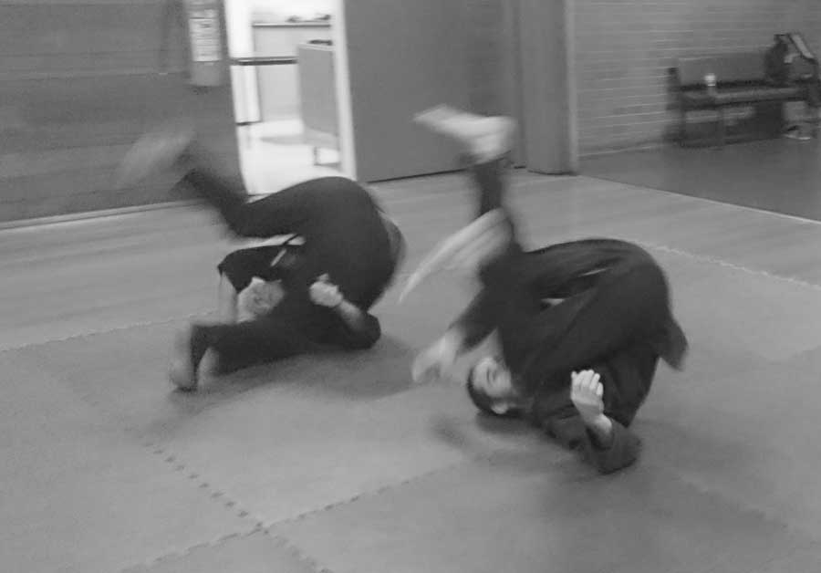 Rolling and breakfalling 3   Traditional Martial Arts   Melbourne, Victoria, Australia