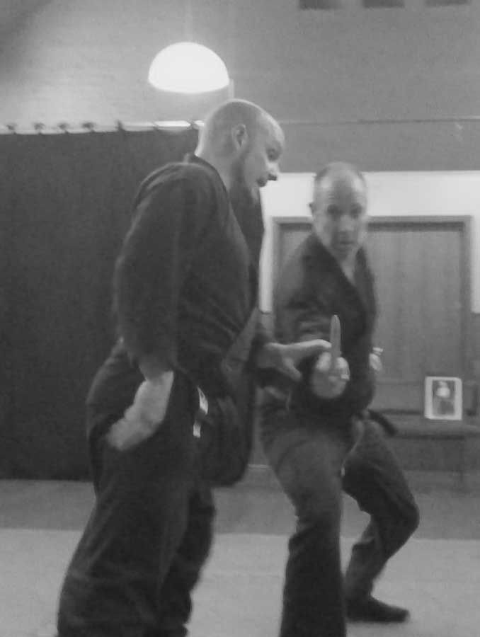 Defence against a knife attack 2   Traditional Martial Arts   Melbourne, Victoria, Australia