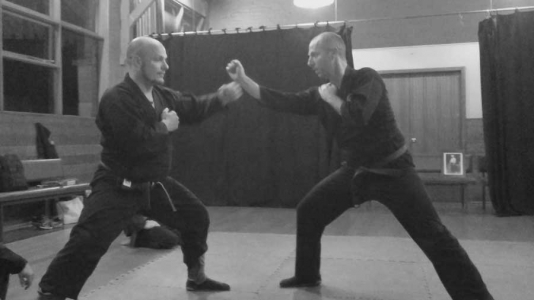 Defence against a punch 2   Traditional Martial Arts   Melbourne, Victoria, Australia