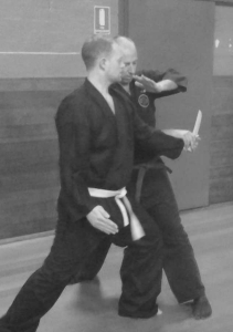 Defence against a knife attack 7   Traditional Martial Arts   Melbourne, Victoria, Australia